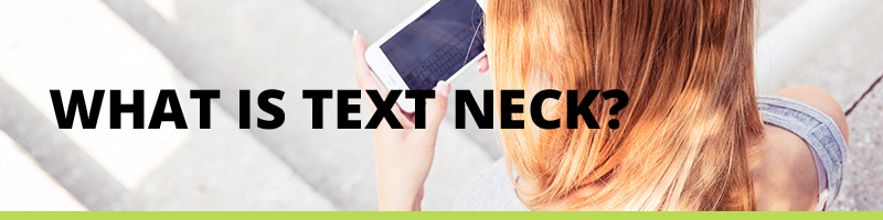 What is Text Neck? Read on our blog about how texting can cause chronic neck pain and back pain.